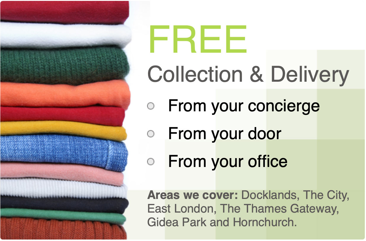 Free delivery & Collection